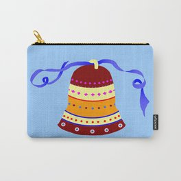 Bell and blue ribbon Carry-All Pouch