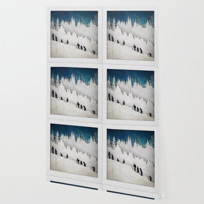A Snowy Hike II Wallpaper