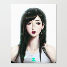 Tifa Lockhart - Portrait Canvas Print