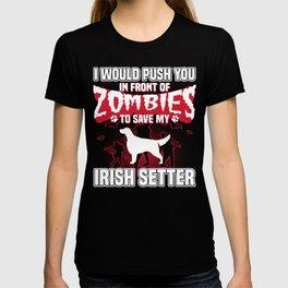 Save My Irish Setter Halloween Funny Gift Shirt T-shirt