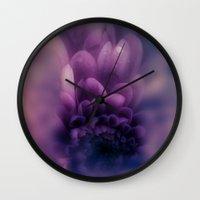 karen Wall Clocks featuring Deeper by Donuts