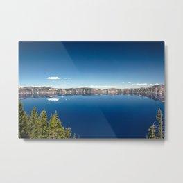 Summer at Crater Lake Metal Print