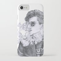 alex turner iPhone & iPod Cases featuring Alex Turner by Anja-Catharina