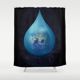 Teardrop 03. Shower Curtain