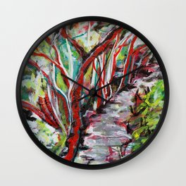 Las Trampas Wall Clock