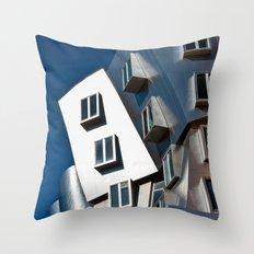 Boston MIT Throw Pillow