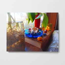 Zen Meditation Space Metal Print