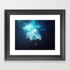 Beneath the Water Framed Art Print