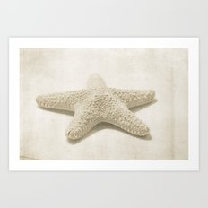Natural Starfish Art Print