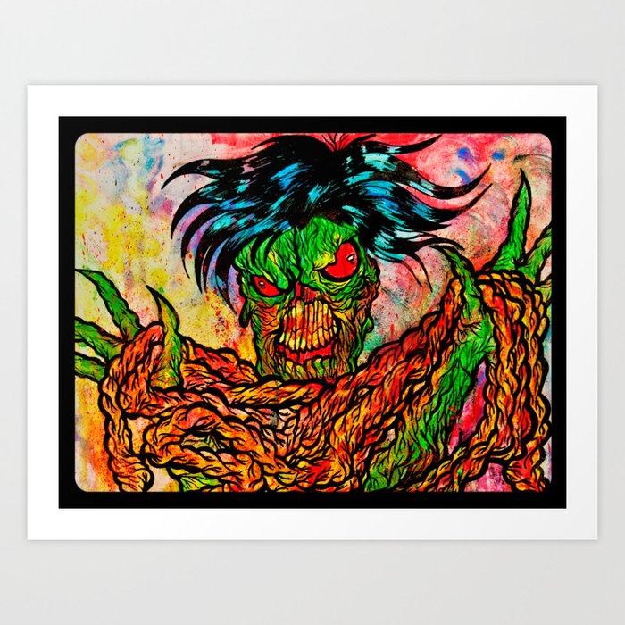 I love your guts !!! Art Print