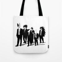 reservoir dogs Tote Bags featuring Reservoir Enemies by ddjvigo