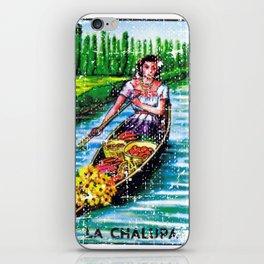 La Chalupa Mexican Loteria Bingo Card iPhone Skin