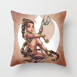 No One's Slave Throw Pillow