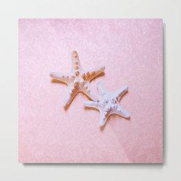 2 Sea Stars Metal Print