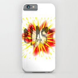 Comic Blast iPhone Case
