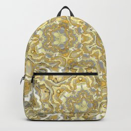 Orange and Yellow Kaleidoscope 1 Backpack