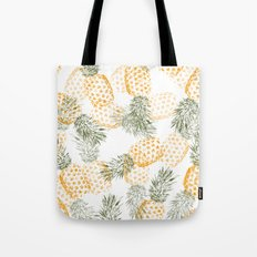 Pineapple mess Tote Bag