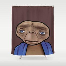 Despondent ET Shower Curtain