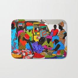 african market 1 Bath Mat
