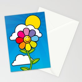 Gay Flower Stationery Cards