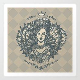 Long Live the Queen Art Print