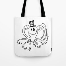 Reggie the Love Squid by Angela Lutz Tote Bag