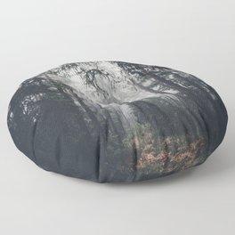 Dark paths Floor Pillow