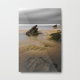 Fistral Beach, Newquay, Cornwall, England United Kingdom Metal Print