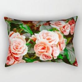 FLOWERS - FLORA - PETALS - BLOSSOMS - BEAUTIFUL Rectangular Pillow