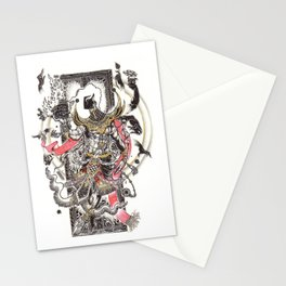 The Giant Mask Stationery Cards