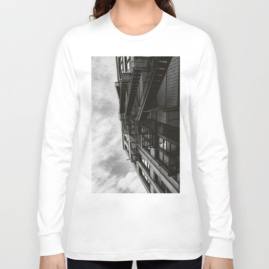 Brooklyn Architecture Long Sleeve T-shirt