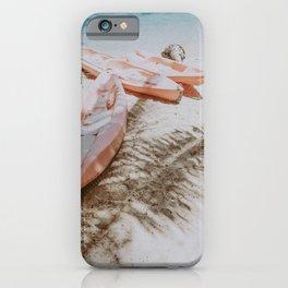 boat life ix / alona beach, philippines iPhone Case