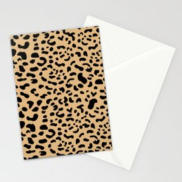 Leopard print - Earth Stationery Cards