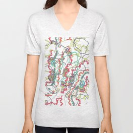 Intro 5 (Dragon Dance) Unisex V-Neck