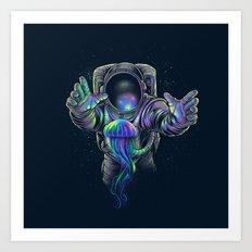 Jellyspace 2 Art Print