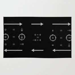 One, Zero, Infinity - An Artistic Proof Rug