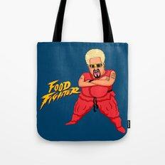 Food Fighter Tote Bag