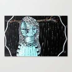 Raining Branches Canvas Print