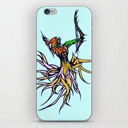 Atlantean Archer iPhone Skin