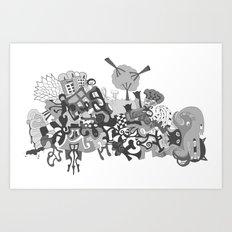 mashup 11 Art Print