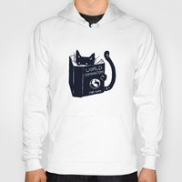 cat coquillette Hoodies featuring World Domination For Cats by Tobe Fonseca