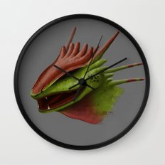 Earth Dragon Wall Clock