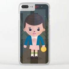 Stranger Things fan art Clear iPhone Case