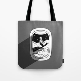 Airplane Mode Tote Bag