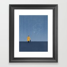 Watching The Skies Framed Art Print