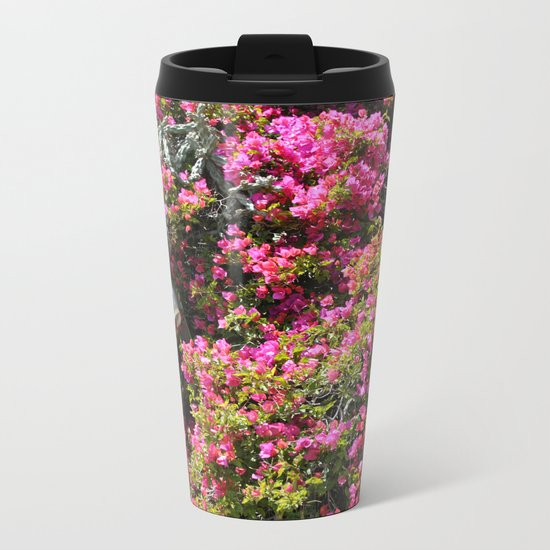 Spring Wild Flowers | Greece #society6 Metal Travel Mug