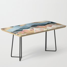 Golden Peaks Coffee Table