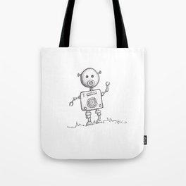 Piggy Bot Tote Bag