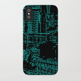 City of the Future iPhone Case