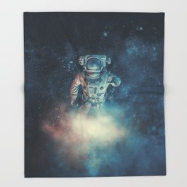 Into The Oort Cloud Throw Blanket